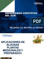 C 10 Aplicativa preparados de plantas med.