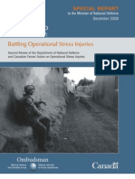 Battling Operational Stress Injuries