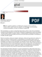 - Ricardo Medina Macías - Liberalismo. Santidad de la vida humana