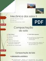 Mecânica dos solos II - Aula2_Compactação_do_solo
