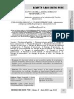 Principios Generales Del Derecho Administrativo - Autor José María Pacori Cari