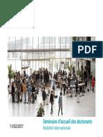 Mobilite Internationale Doctorants 2021
