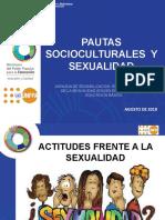 2. PAUTAS SOCIOCULTURALES TALLER SEXUALIDAD