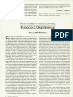 Flogging Underwear, January 18, 1988