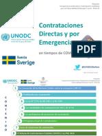 Contrataciones Directas y Por Emergencias COVID 19