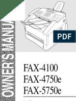 4750e fax  copy  MANUAL