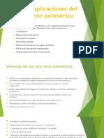 Usos y aplicaciones del concreto polimérico. (1)
