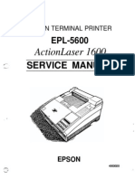 EPL-5600 Service Manual