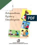Modulo Medidas Antropometricas Registro Estandarizacion