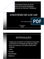 bases anestesicas