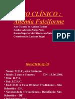 Caso Clinico Anemia Falciforme