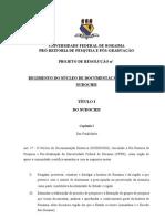 REGIMENTO DO NÚCLEO DE PESQUISA HISTÓRICA