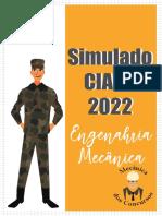 Simulado Ciaar 2022_eng. Mecânica_ Mecânica Dos Concursos
