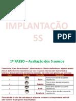 IMPLANTAÇÃO  5S