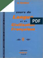 Cours de Langue Et de Civilisation Françaises II by Gaston Mauger (Z-lib.org)