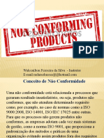Controle de Produto NC - treinamento
