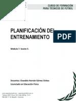 Documento Planificación Del Entrenamiento