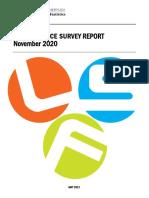 November 2020 Labour Force Survey Report