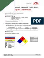 Argonio Comprimido
