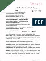 Decreto Test PCR Tras Ingreso a Uruguay