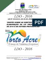 0.0. - CAPA LDO - 2016