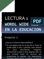PRODUCTO 1 LECTURA  1-2