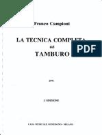 CAMPIONI-La-Tecnica-Completa-Del-Tamburo