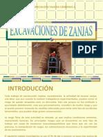 EXCAVACION DE ZANJAS