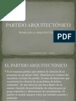 PARTIDO ARQUITECTÓNICO