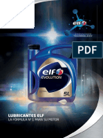 Catalogo Elf Evolution Tech 2018 0