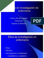 ETICA EN INVESTIGACION