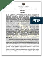 Análise Crítica Do Discurso de Uma Sentença Condenatória Do Caso Tatiane Spitzner