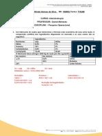 Atividade PO - 13.05.2021