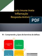 Inflamação Resposta Antiviral 2020