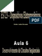 Aula 09 – Desenvolvimento de Circuitos Seqüênciais