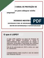 Apresentação LGPD