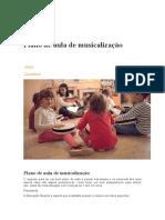 Plano de Aula Educacao Infantil