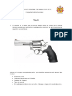 Conocimiento General de Armas de Fuego (Gonzalerz)