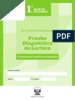 014957-ITEM 1-SEC 1-Prueba Diagnóstica Lectura - 1er Grado Secundaria