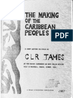 James, C.L.R. 1966 The Making of th