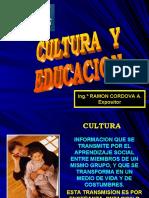 CHARLA CULTURA Y EDUCACION