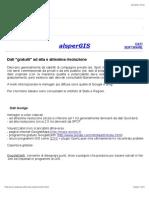 Dati gratuiti ad alta risoluzione - Tutorial QGIS