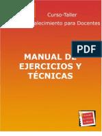 MANUAL EJERCICIOS Y TECNICAS SNTE-la profe