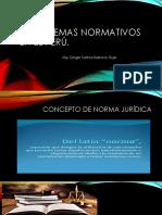 Los sistemas normativos en el Perú