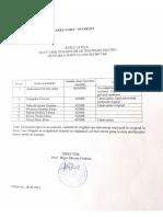 Selecție Dosare Post Secretar