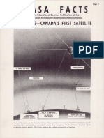 NASA Facts Allouette Canada's First Satellite