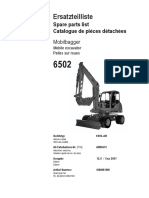 6502 AB00473 - AB03042 (1)Catalogue Pieces Neuson 6502