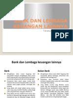 Bank dan Lembaga keuangan lainnya