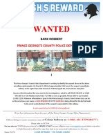 Wanted Poster Capitol One Bank 11-081-1229