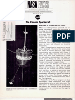 NASA Facts The Pioneer Spacecraft
